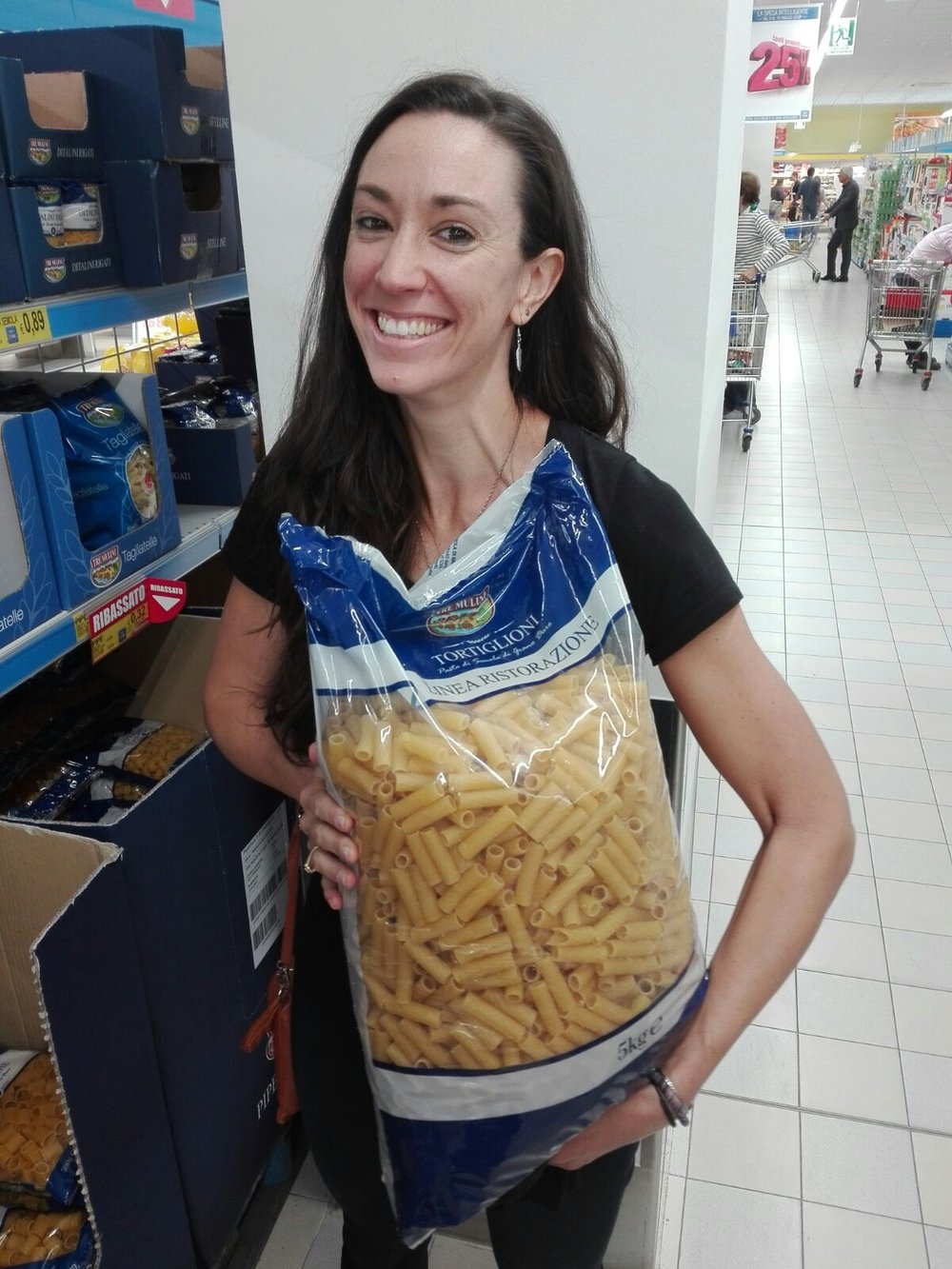 Have not purchased this 5kg bag of pasta...yet