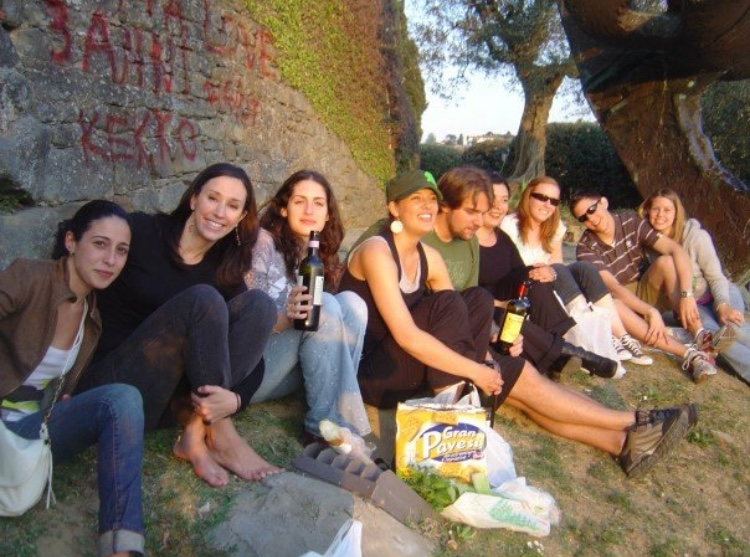 christmas natale firenze tuscany florence family grandad nonno picnic