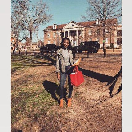 Exploring campus -