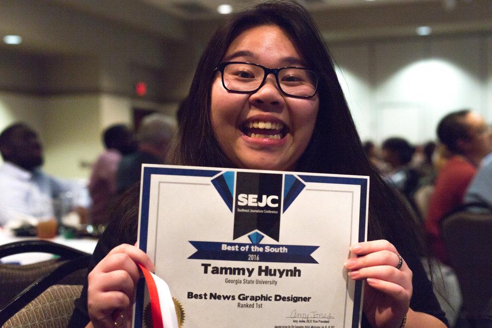 Tammy Huynh, BotS Awards Banquet