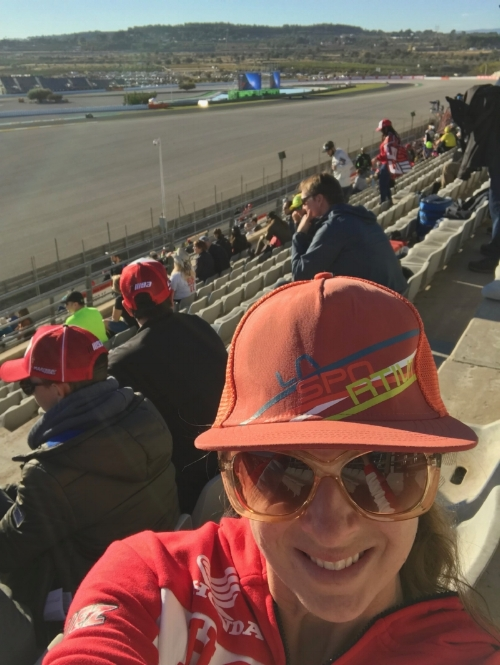 I am no Spanish superstar but I love GP so much I went to Valencia Spain for the 2017 MotoGP World Championship with only two weeks notice. Life of Moto.  lifeofmoto.com