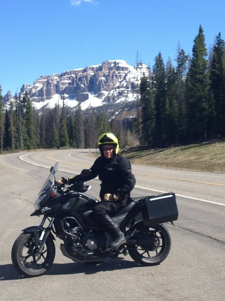 Chip Miller - On the road again.  Life of Moto.