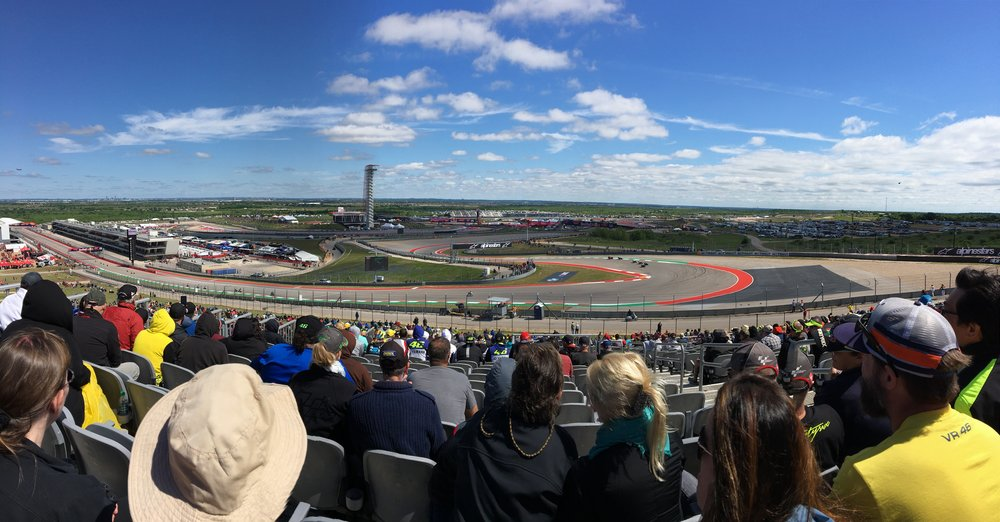 Putting in some track time at COTA - Circuit of the Americas - in Austin, Texas. Life of Moto. MotoGP, Moto2, Moto3.