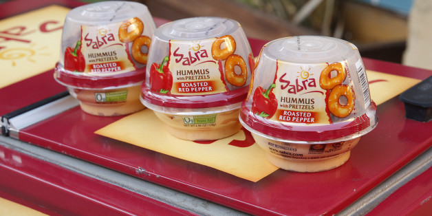 Sabra Hummus products. Photo Courtesy of AP.