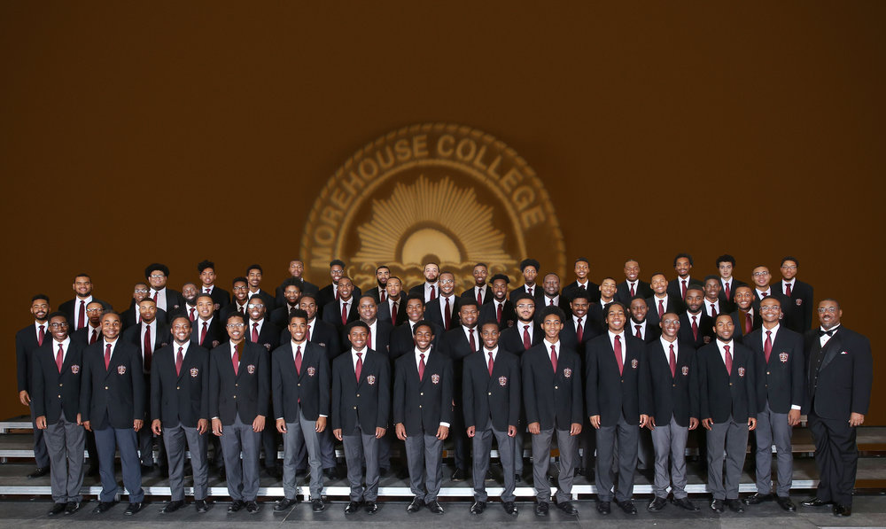 Morehouse Glee Club 2017-18. Photo Courtesy of David Morrow.