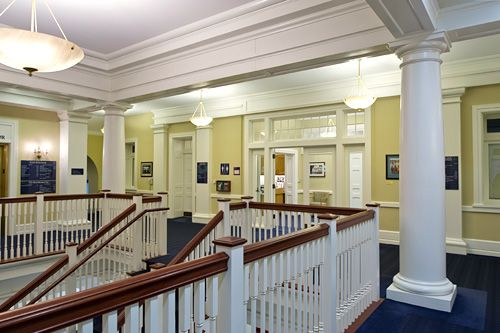 Swarthmore College's Admissions Office.  Photo Courtesy of  archerbuchanan  . com