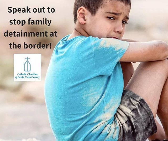 "A message from Catholic Charities of Santa Clara's CEO, Gregory R. Kepferle. ""Dear Friends,  We need your help now to end the federal policy of detaining families at the border.  Catholic Charities of Santa Clara County urges the federal administration to immediately stop criminalizing immigrants seeking refuge from harm and death. We urge Congress to take action to stop the administration from detaining families and children who are fleeing violence and oppression..."" Learn how you can help, read the rest of Greg's message at http://catholiccharitiesscc.org/ceo-letter.  #ShareJourney #KeepFamiliesTogether"