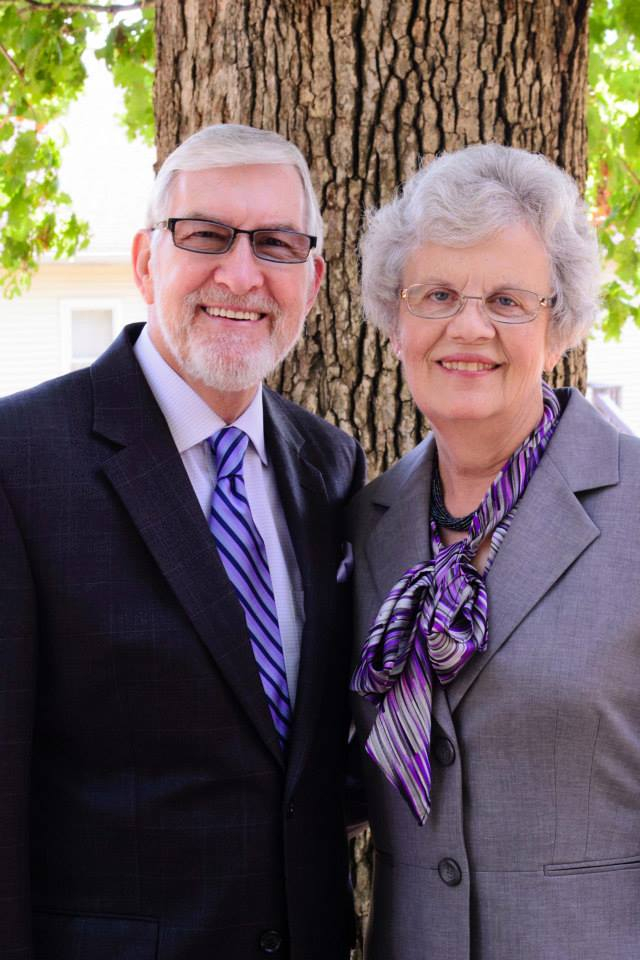 Founder, Pastor Emeritus Mickey and Barbara Creed