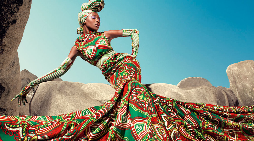 From Google: Vlisco LookBook Outfit