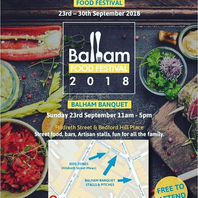 Find us here #balhambanquet next week Sunday...weather should be nice too yay! 😊🍹#Balham #london #southwestlondon #hildrethstreet #rum #rumpunch #cocktails #rumboxx