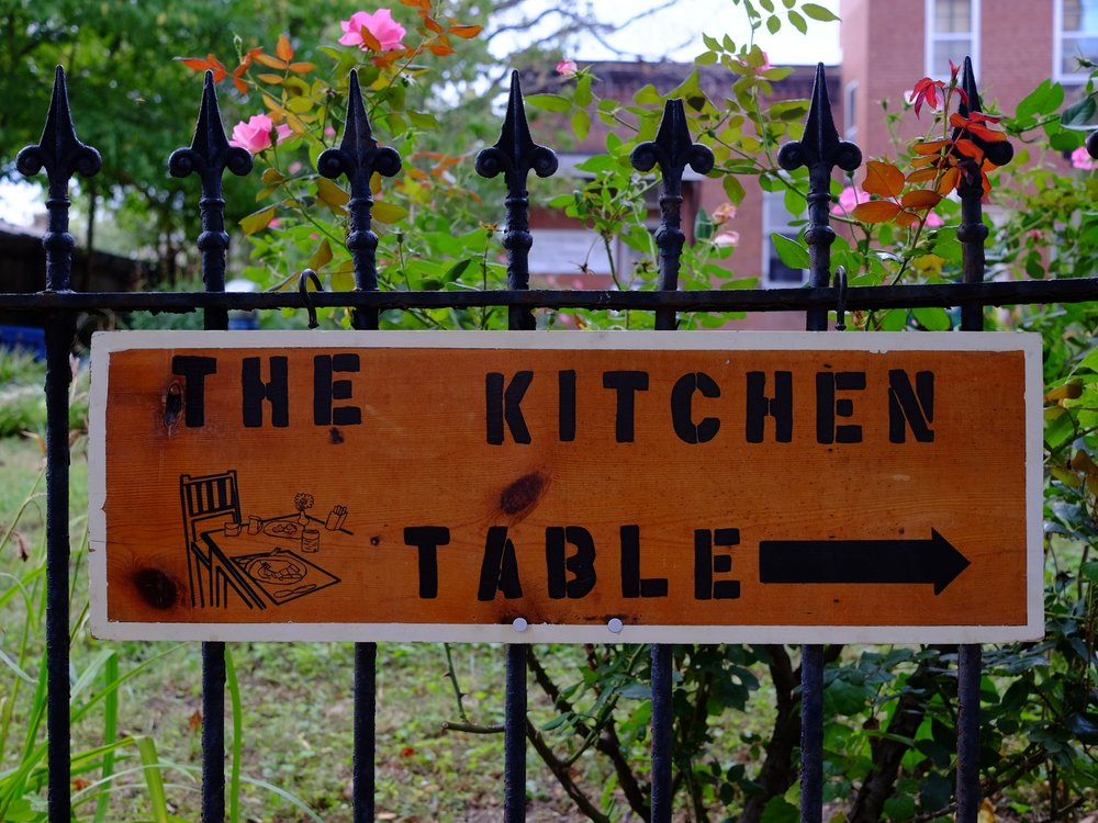 Have lunch at the Kitchen Table (visit the TKT website here)