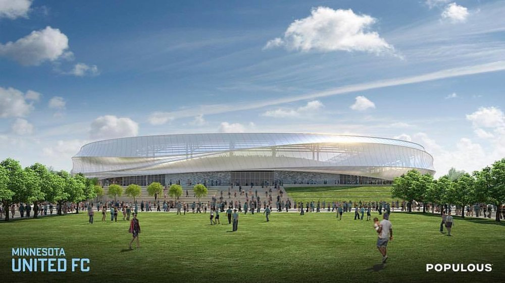 Minnesota United Soccer Stadium Rendering