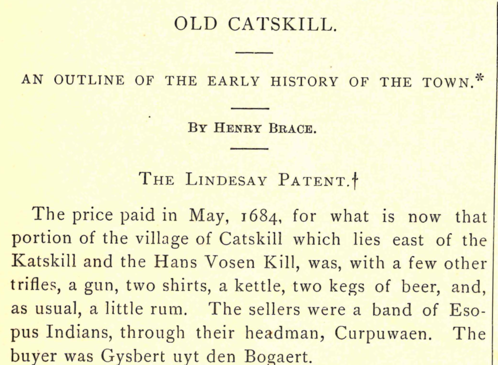 Old Catskill