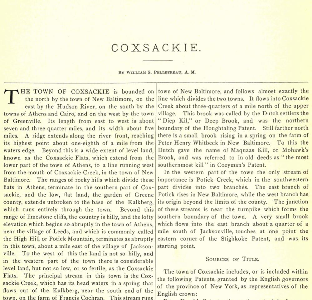Coxsackie
