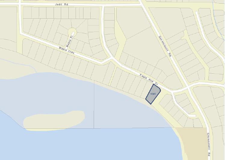 Google map 1585 Eagle Run Drive.jpg