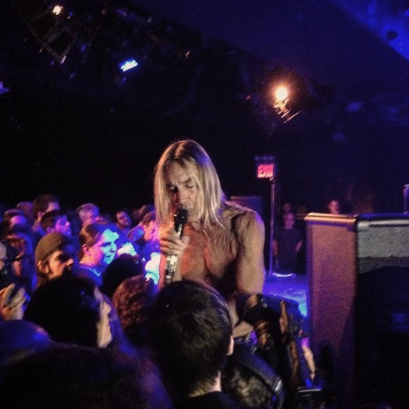#tbt @iggypopofficial and the Stooges at @lprnyc for a @nprmusic performance. #herostatus #punkasfuck #nowiwannabeyourdog