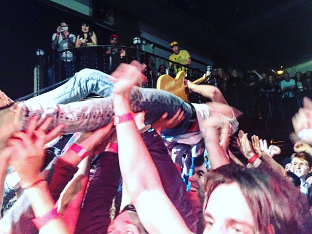 #tbt @diarrheaplanet last year at @boweryballroom. Rinse & repeat tonight.