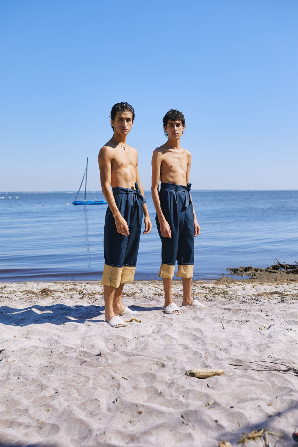 Ben and Jordan on Location at Fire Island Pines for One DNA's SS19 Men's Lookbook