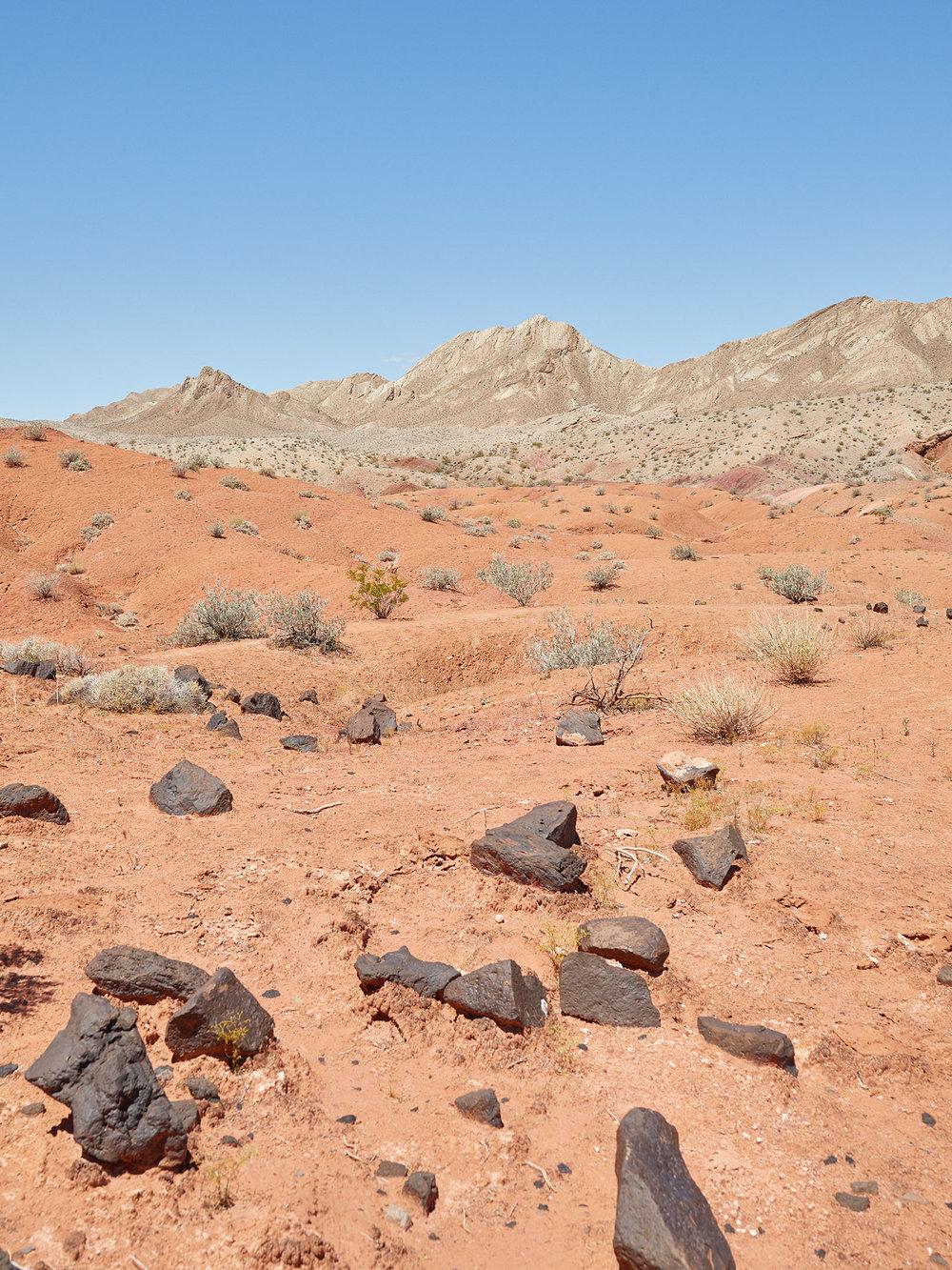 A Mars-like Nevada Landscape
