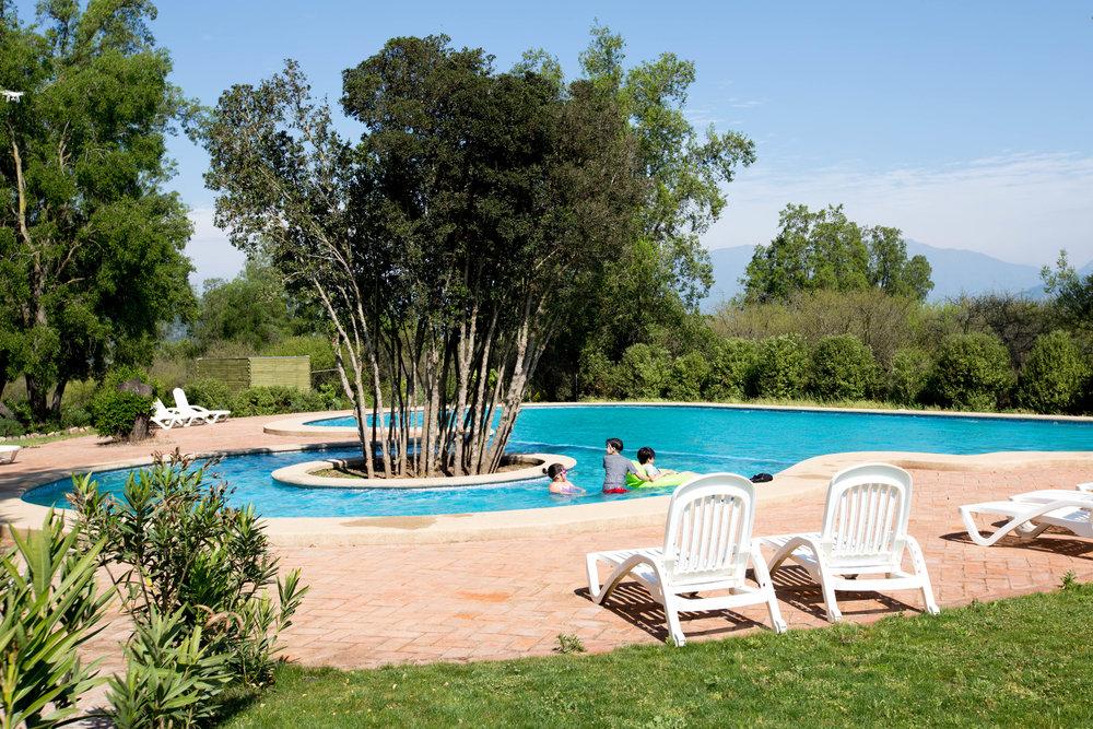 Áreas comunes, piscina