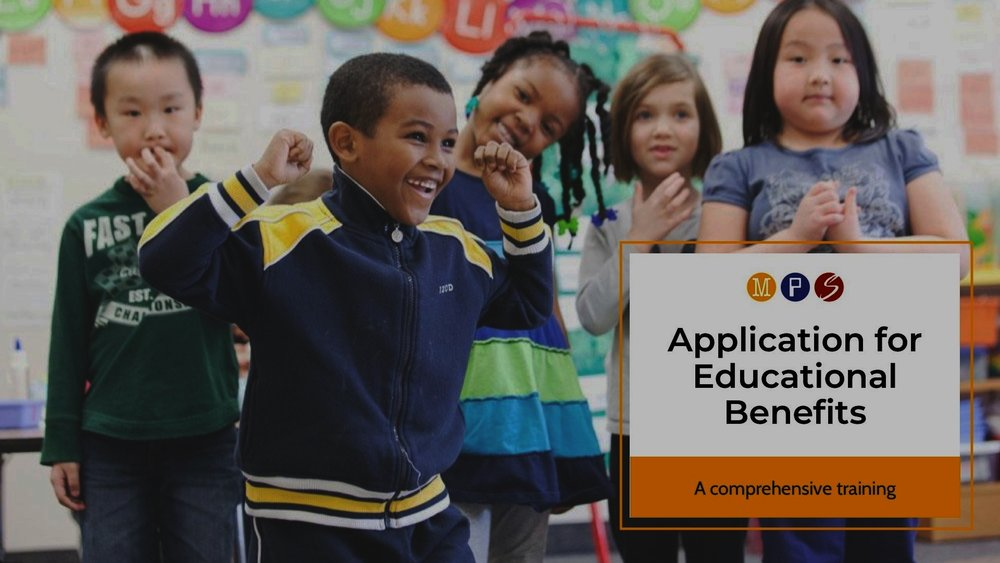 Application for Educational Benefits -