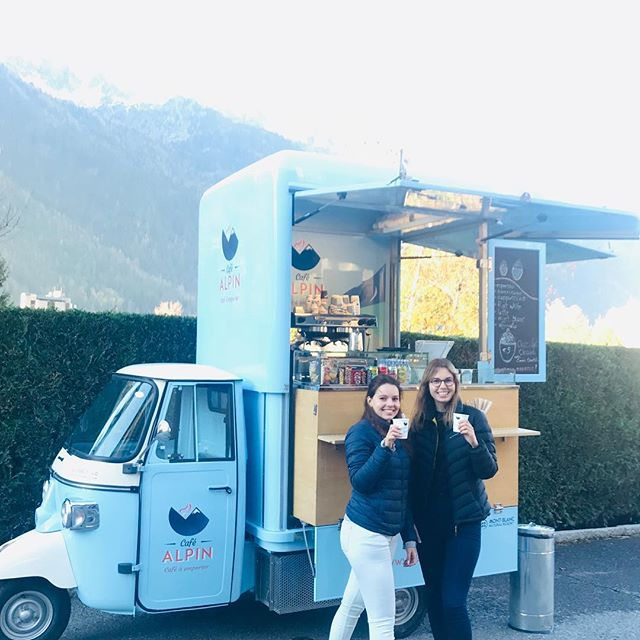 Visit us at the Gare de Montenvers in Chamonix for a lovely coffee this November #chamonix #montblancnaturalresort #montenvers #merdeglace #coffee #cafealpin #chiaraferragni