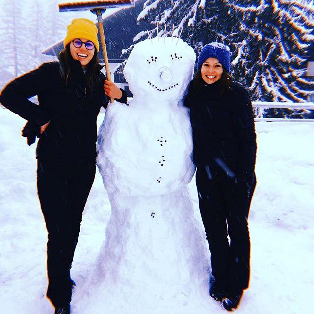 Bonhomme de neige au Brevent - production @cafealpin ⛄️ ☕️ #cafealpin #chamonix #montblancnaturalresort #coffee #bestcoffee #instacoffee #alpinecoffee