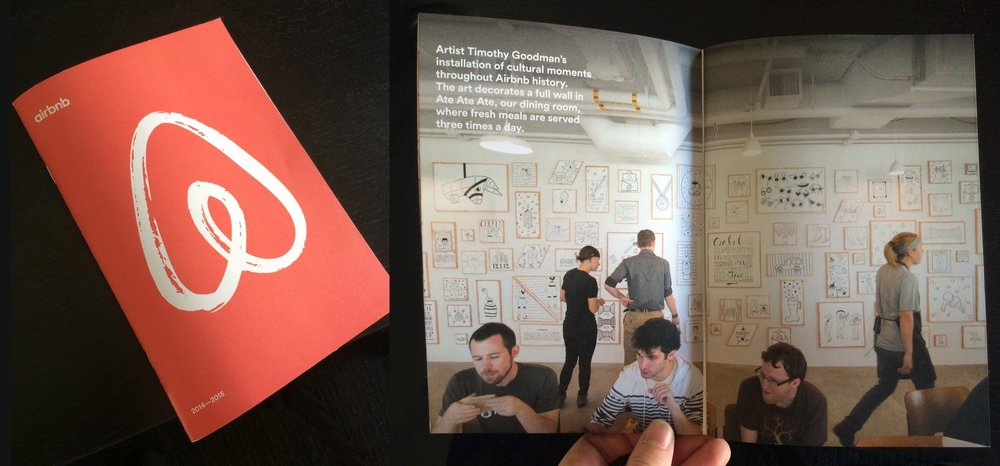 The Koality team had a minor cameo in the company's annual handbook.