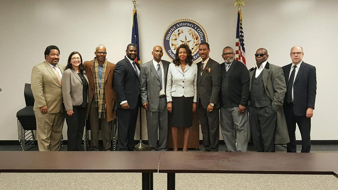 IPTX Meets with the New Dallas County District Attorney