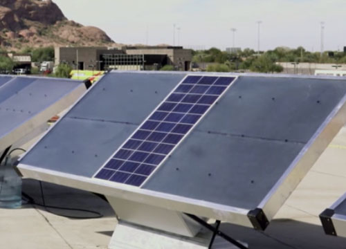 How Zero Mass is using solar panels to pull drinkable water directly from the air - The VergeLauren GoodeNovember 28, 2017