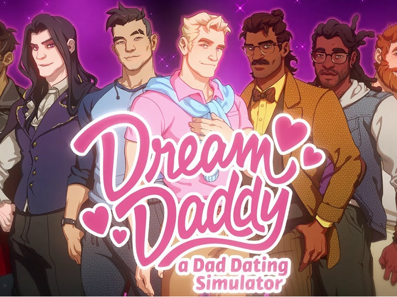Dream Daddy - A surprise project that became the best selling Indie game in Summer 2017 (that wasn't PUBG).Play as a dad who just moved into the cul-de-sac as you try to date and romance other dads in your neighborhood. Brought on by an idea and script from Game Grumps in-house producer Vernon Shaw and Leighton Gray. Programmed by Tyler Hutchison and Jory Griffis.