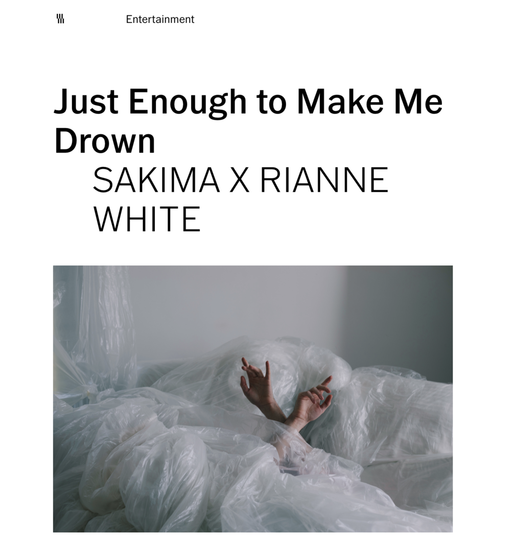 VSCO - DIRECTOR + DOP of JUST ENOUGH TO MAKE ME DROWN