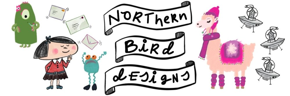 Illustrator & Surface Pattern Designer in Warrington, Cheshire - Northern Bird Designs