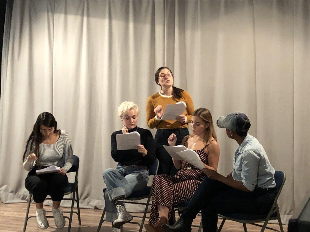 Maya Shemesh, Lani Engstrom, Kate Chindlund, Lauren Henning, Ashley Nichol