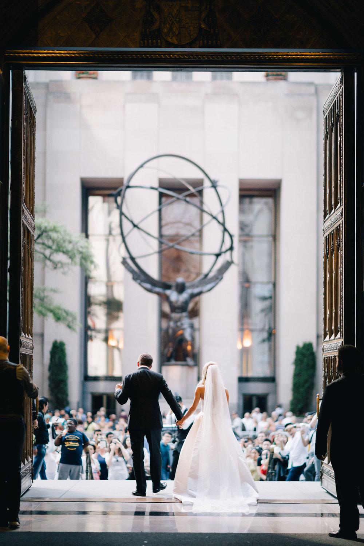 Cipriani 42nd st. Wedding /  Bridget & Tim