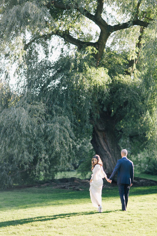 Brooklyn botanical gardens wedding / Kelly & Clark