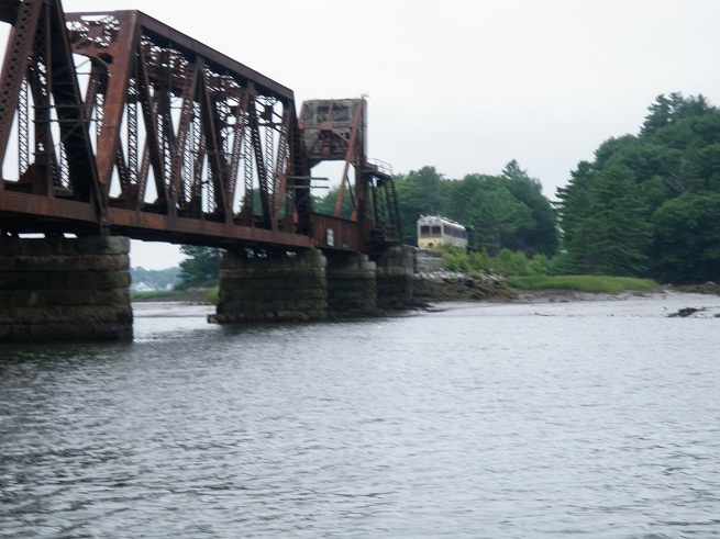 Photo of bridge that was inspected for assessment and scour