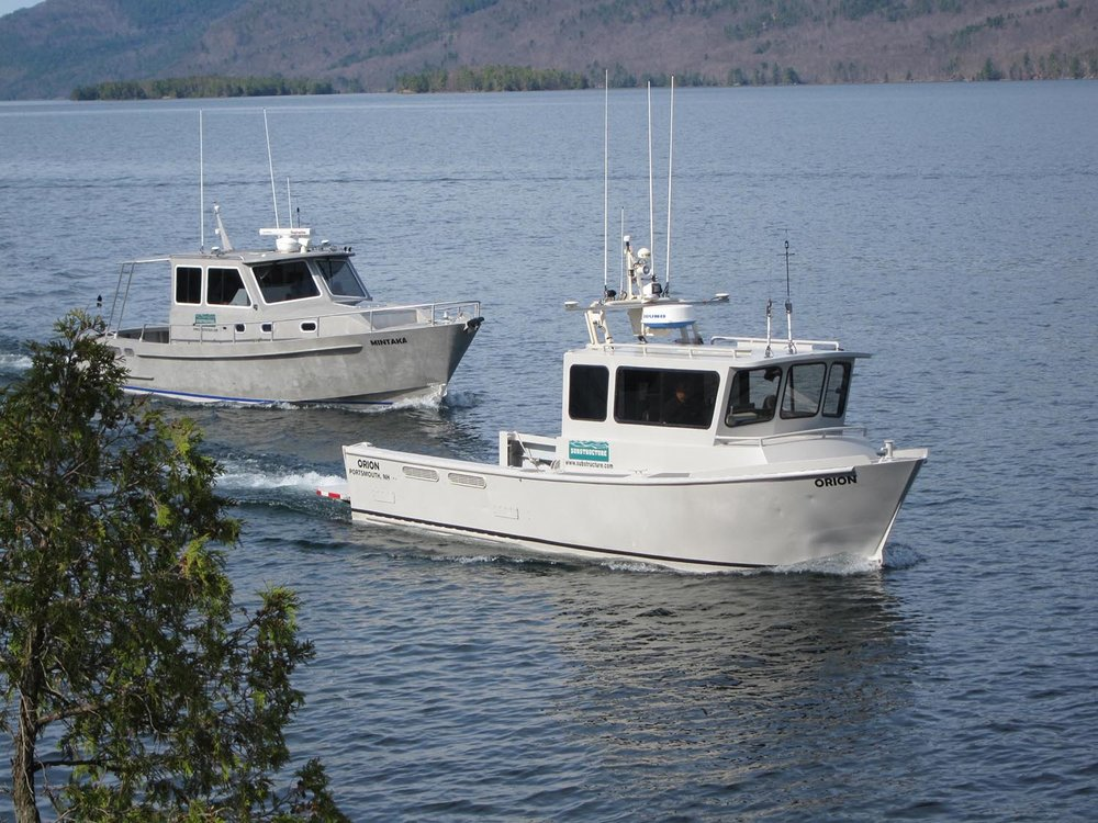 Hydrographic Surveys   Over 3,000 Squares Miles Surveyed   Learn More