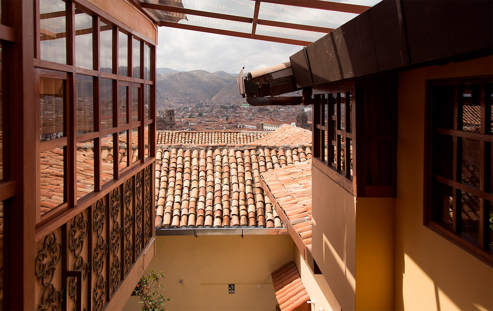 Cusco Hotel View