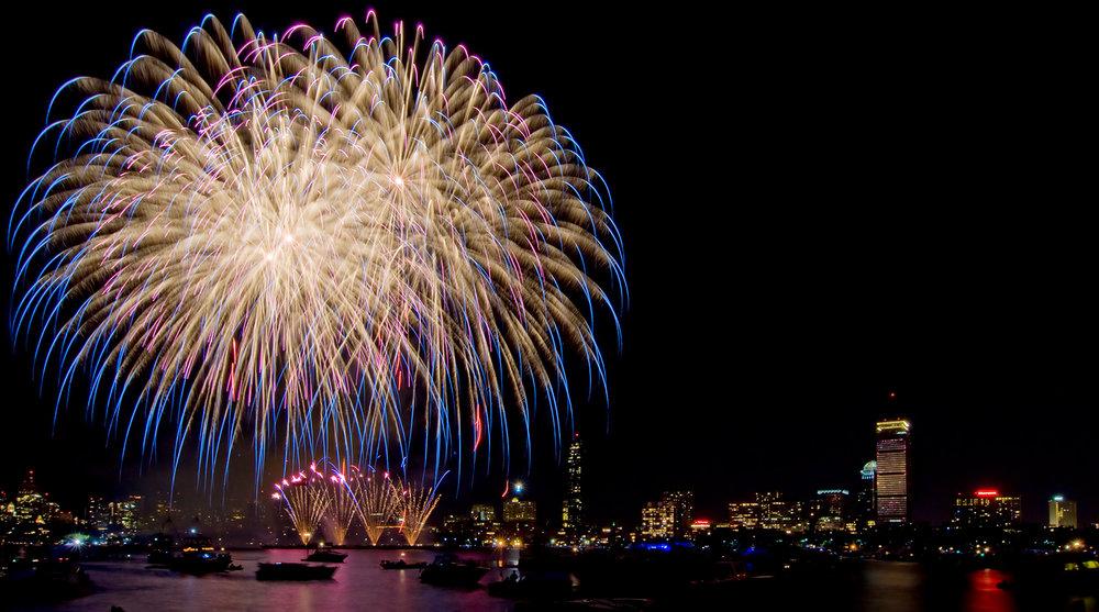 Skyline Fireworks