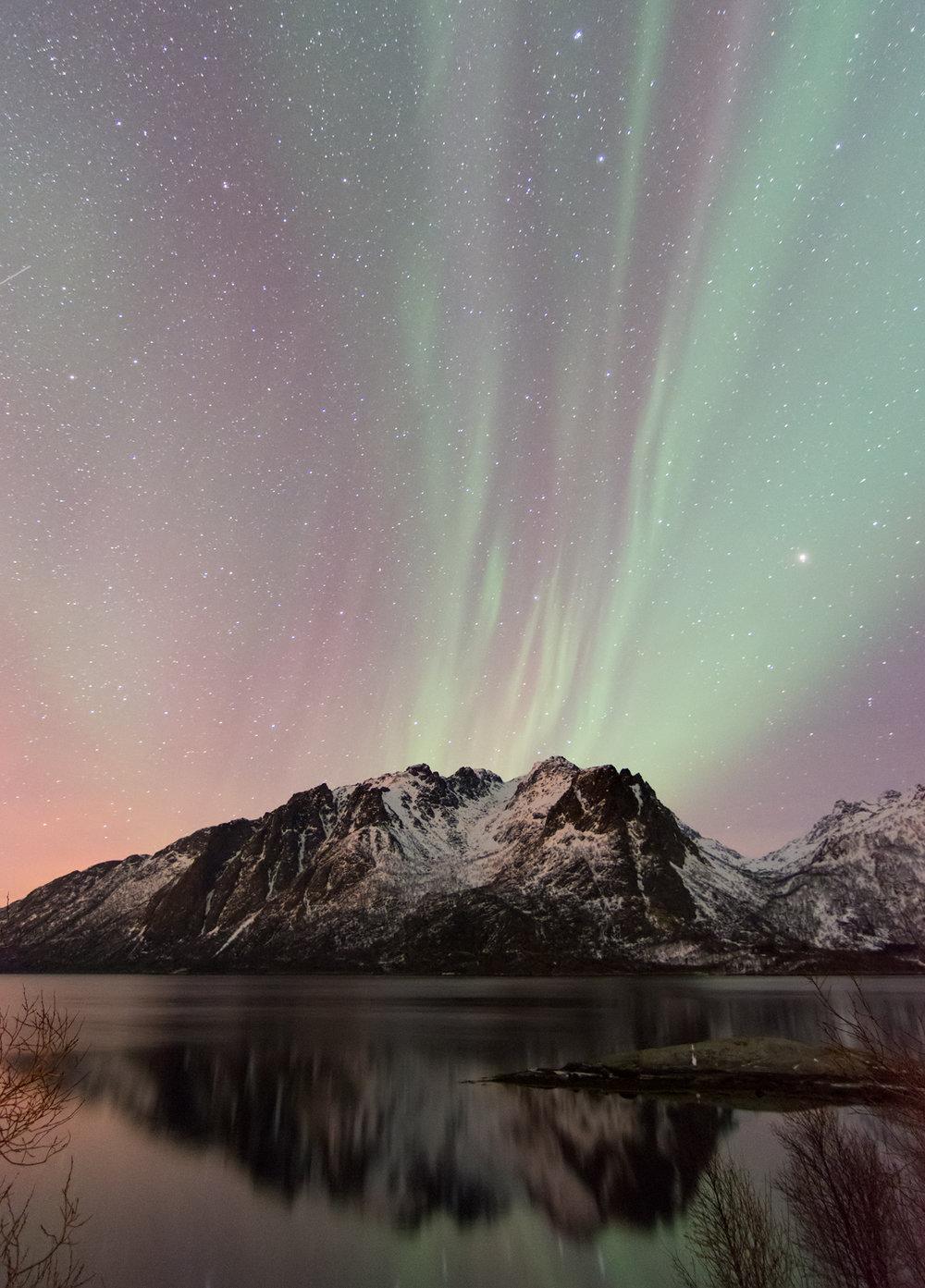 Mountain Aurora