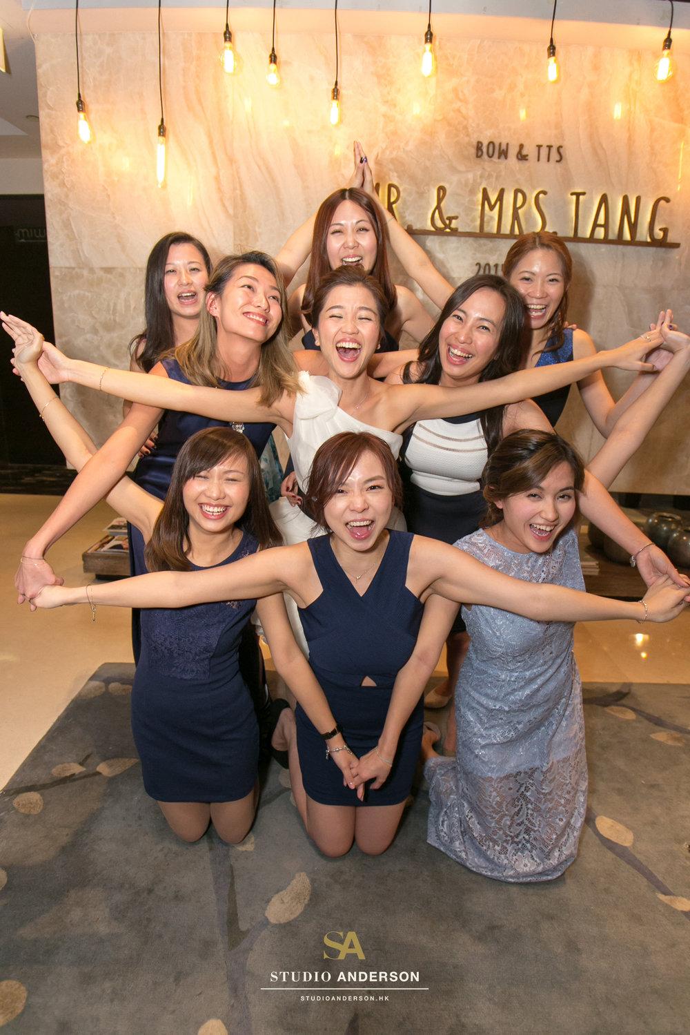 Funny bride and bridesmaids also!!