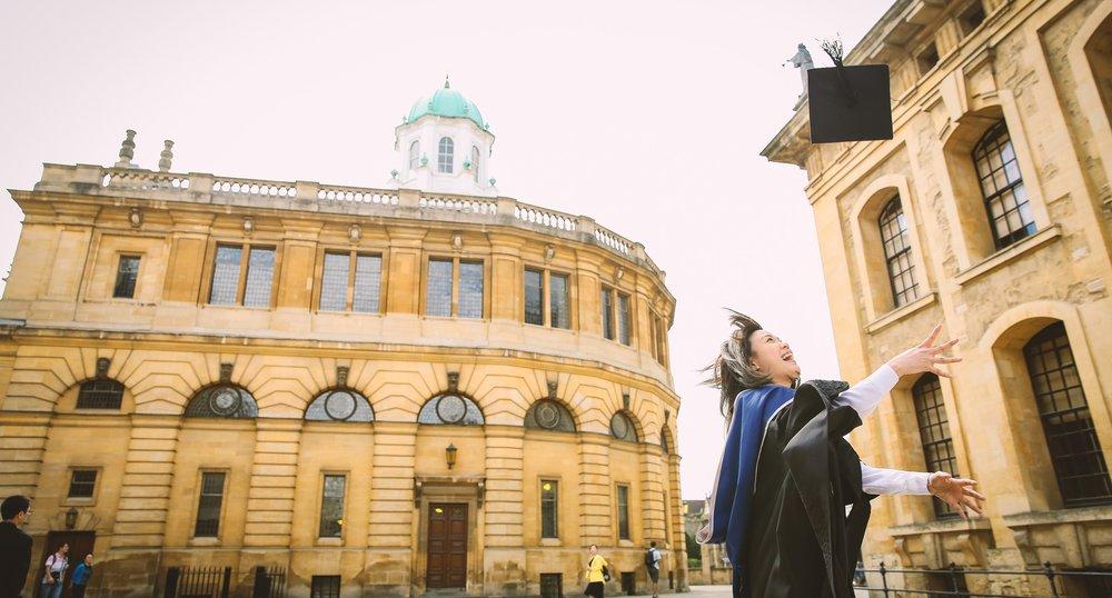 graduation • judy in oxford -