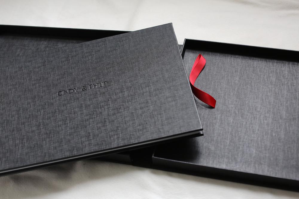 Professionally handcrafted presentation box