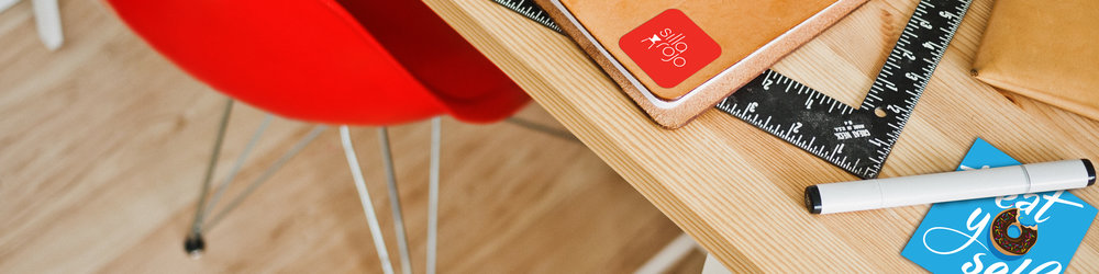 Silla Rojo - Playful Stationery & Custom Illustration