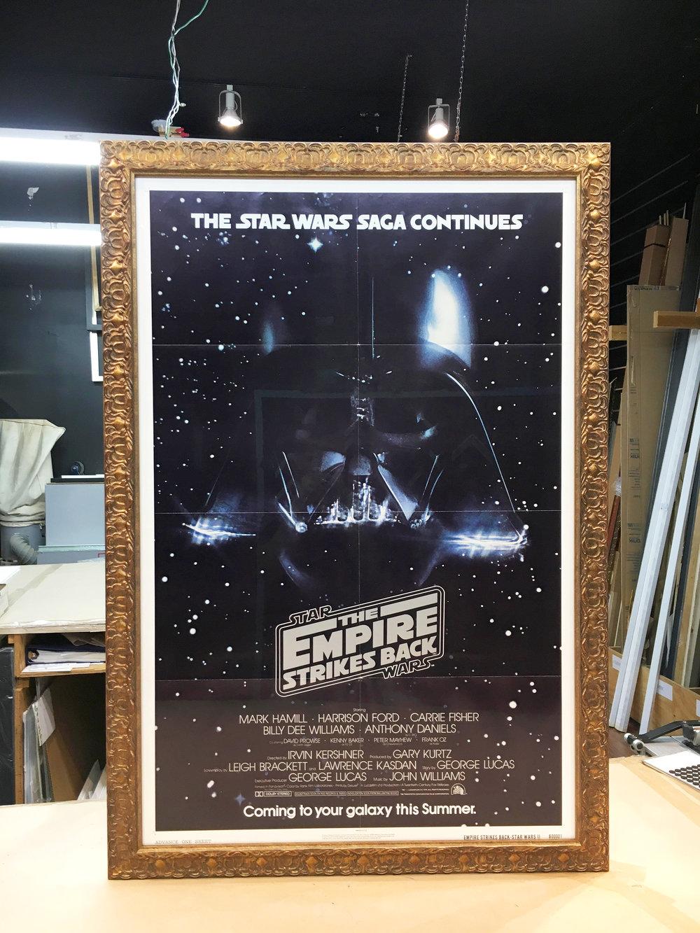 original star wars posters creative framing studio