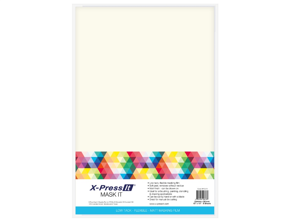 MASK IT SHEETS - Pack comes with 8 sheets, 15