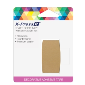 KRAFT DECO TAPE - Tape size: 1