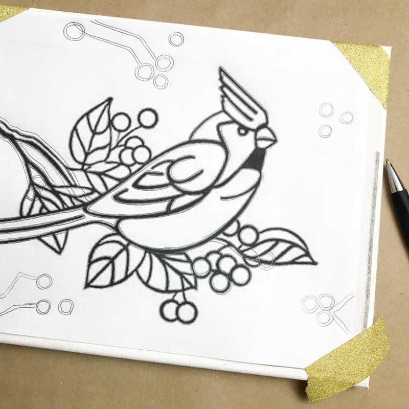 transfer paper process mod cardinal