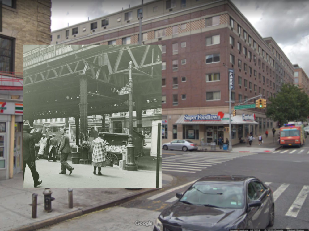 Credit:  The New York Public Library Digital Collections, Schomburg Center for Research in Black Culture, Photographs and Prints Division and Google Maps/Street View   Photographer:  Aubrey Pollard